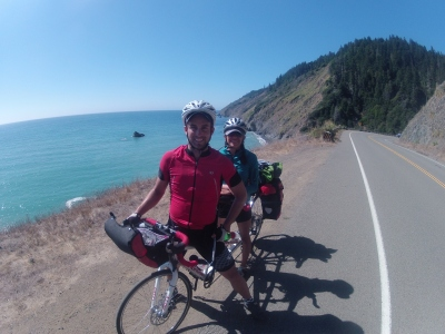 Tandem Touring the Pacific Coast