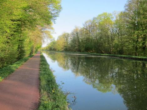 Bike path from Saverne to Strasbourg